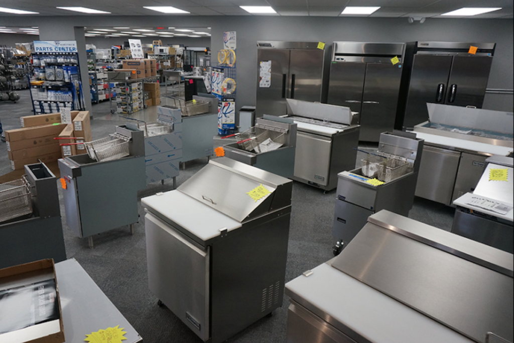 Main-Ford's new store in Buffalo, N.Y., offers restaurant equipment, smallwares and tabletop supplies. Photo Courtesy of Main-Ford General Supply