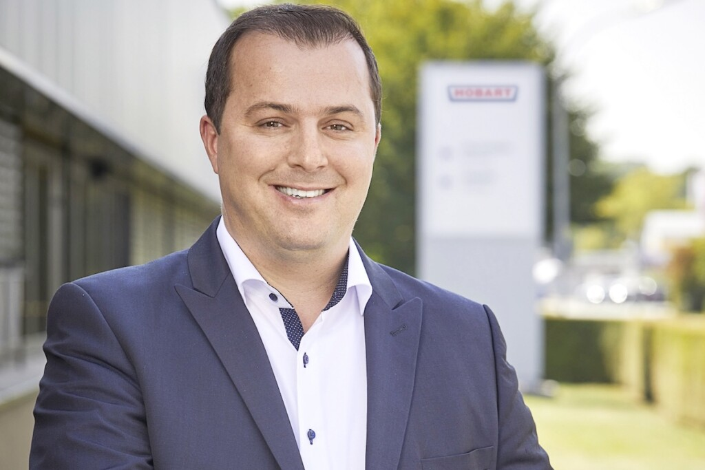 Matthias Siebert has joined Hobart's management team, the company announced this month. Photo Courtesy of Hobart