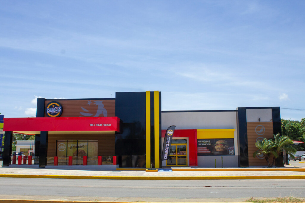 Church's Chicken, Texas Chicken and Church's Texas Chicken currently have over 1,500 locations in 25 countries.