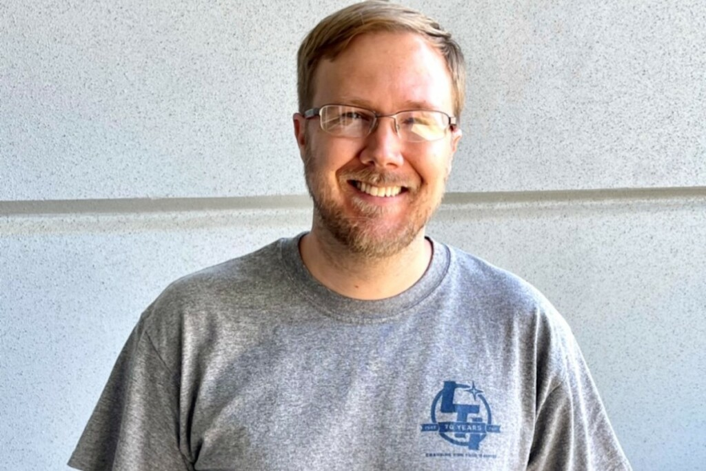 Matt McEwen joined LTI in 2012 as a drafter. Photo Courtesy of LTI