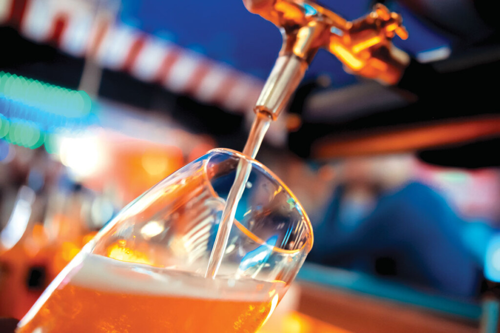 Beer is a living, naturally carbonated beverage and a perishable food product. A dedicated walk-in keg cooler, versus a food-holding walk-in, will help maintain its quality.