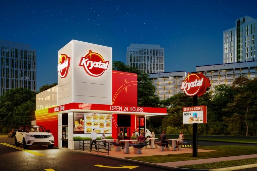 Krystal's newly unveiled restaurant prototype (Photo Courtesy of Krystal)