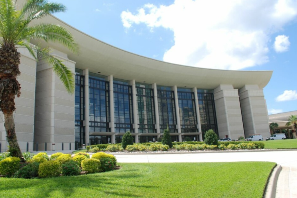 Orange County Convention Center's West Building