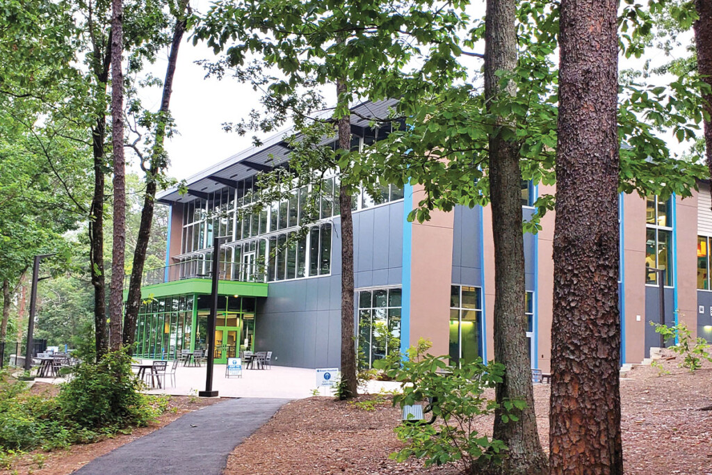 The new dining facility at the Roper Mountain Science Center, part of Greenville County Schools, opened in June, a year later than anticipated because of the pandemic.