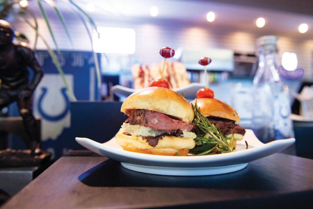 Colts LOS Media Day Steak SlidersWEB