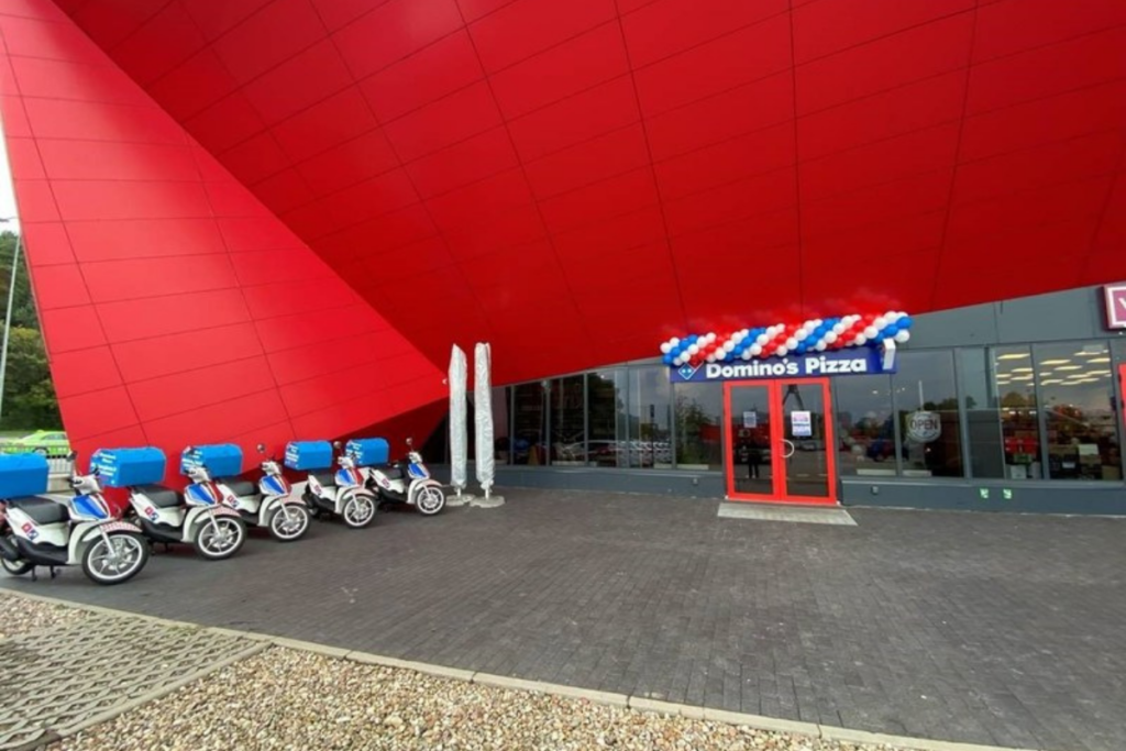 Domino's has opened its first store in Lithuania. Courtesy of Domino's.