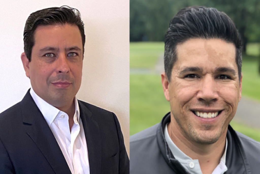 Elias Tavarez (left) was named CFO, while Phil Blas (right) will serve as the dealer's regional sales manager. Courtesy of Edward Don & Co.