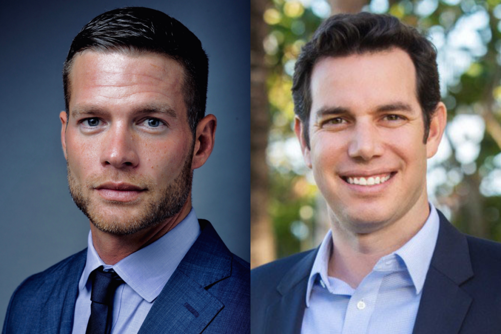 Jacob Barden (left) will serve as IHOP's vice president of development, while Michael Kaufman (right) will serve as vice president of strategy and business analytics. Courtesy of IHOP.