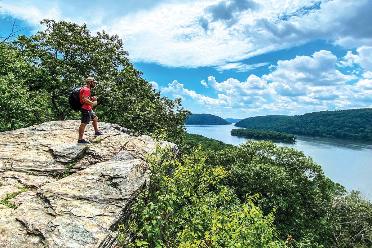 Credit Dustin Underkoffler House Rock Scenic Overlook at Clark Nature PreserveWEB